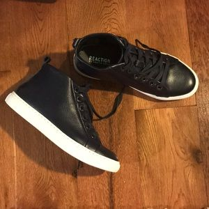 Kenneth Cole Leather Sneakers